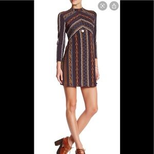 Free People Stella Bohemian Mini Dress Size M
